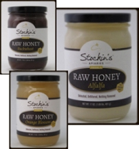 Stockin's Crystallized Raw Honey