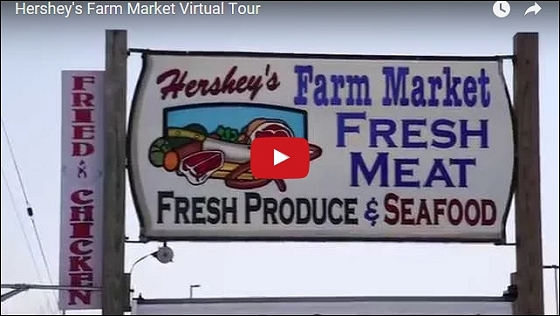 Hershey's Farm Market Virtual Tour!